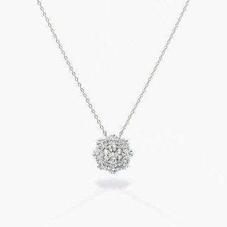 ラボ・グロウン ダイヤモンド<br>ネックレス / プラチナ / 中石 0.50カラット