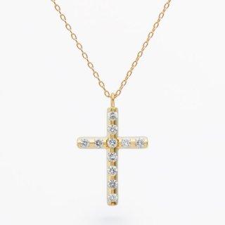 ラボ・グロウン ダイヤモンド<br>ネックレス / ゴールド / total0.15カラット
