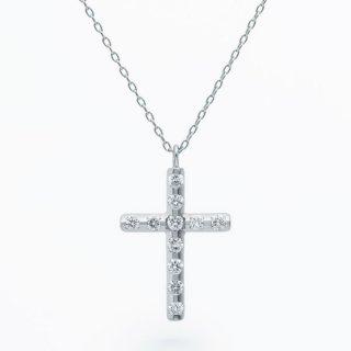 ラボ・グロウン ダイヤモンド<br>ネックレス / プラチナ / total0.15カラット