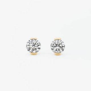 S003 ラボグロウンダイヤモンド<br>ピアス / ゴールド / 0.50カラット*2