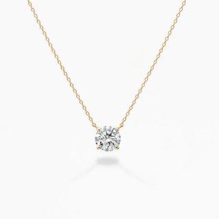 ラボ・グロウン ダイヤモンド<br>ネックレス / ゴールド / 1.00カラット