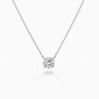 ラボ・グロウン ダイヤモンド<br>ネックレス / プラチナ / 1.00カラット