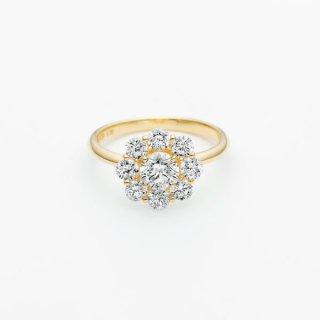 ラボ・グロウン ダイヤモンド<br>リング / ゴールド / 中石 0.50カラット