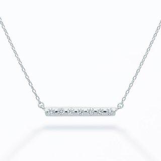 ラボ・グロウン ダイヤモンド<br>ネックレス / プラチナ / total0.08カラット