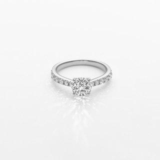 ラボ・グロウン ダイヤモンド<br>リング / プラチナ/ 1.00カラット