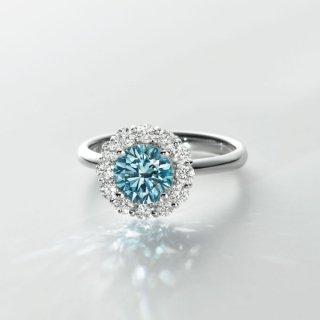 [お問合せ商品]BLUEラボ・グロウン ダイヤモンド<br>リング/プラチナ/1.02カラット