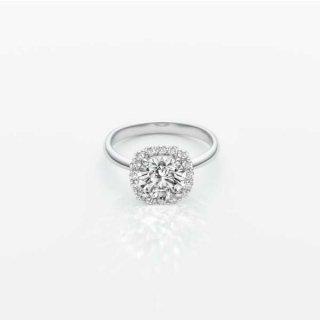 L006 ラボグロウンダイヤモンド<br>リング / プラチナ / 1.55カラット