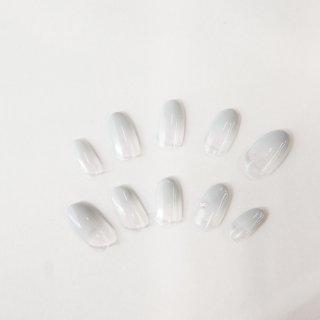 ラボグロウンダイヤモンドネイルチップ<br>total 0.03カラット/ Mサイズ