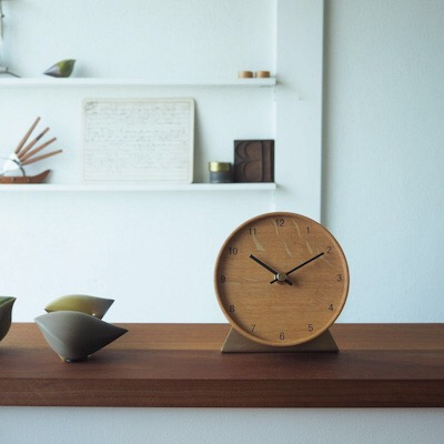 tribute Wall clock small with stand