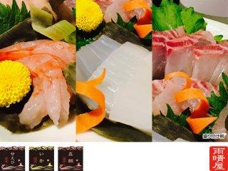 氷見魚昆布じめ 3種セット