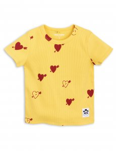 mini rodini Heart rib YELLOW /30%OFF<img class='new_mark_img2' src='https://img.shop-pro.jp/img/new/icons20.gif' style='border:none;display:inline;margin:0px;padding:0px;width:auto;' />