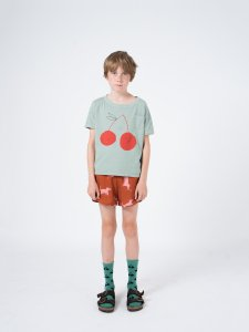 <img class='new_mark_img1' src='https://img.shop-pro.jp/img/new/icons23.gif' style='border:none;display:inline;margin:0px;padding:0px;width:auto;' />30%OFF/BOBO CHOSES Cherry Short Sleeve T-shirt