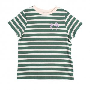 20%OFF/wynken STRIPE PALMS TEE GREEN