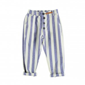 piupiuchick  blue stripes trousers