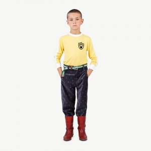 The Animals Observatory COLT KIDS PANTS  NAVY LOGO