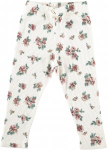 TOCOTO VINTAGE FLOWER PRINT LEGGINGS KIDS