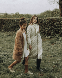 The New Society Saeide Knit Coat