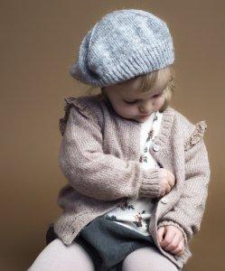 TOCOTO VINTAGE Knit beret