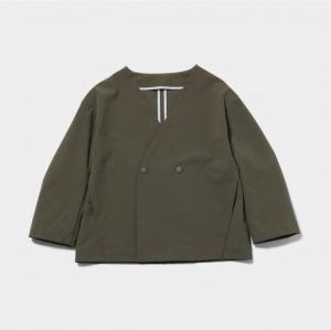 MOUN TEN. nylon stretch jacket