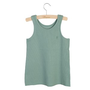 <img class='new_mark_img1' src='https://img.shop-pro.jp/img/new/icons14.gif' style='border:none;display:inline;margin:0px;padding:0px;width:auto;' />LITTLE HEDONIST  TANKTOP MADDY CHINOIS GREEN