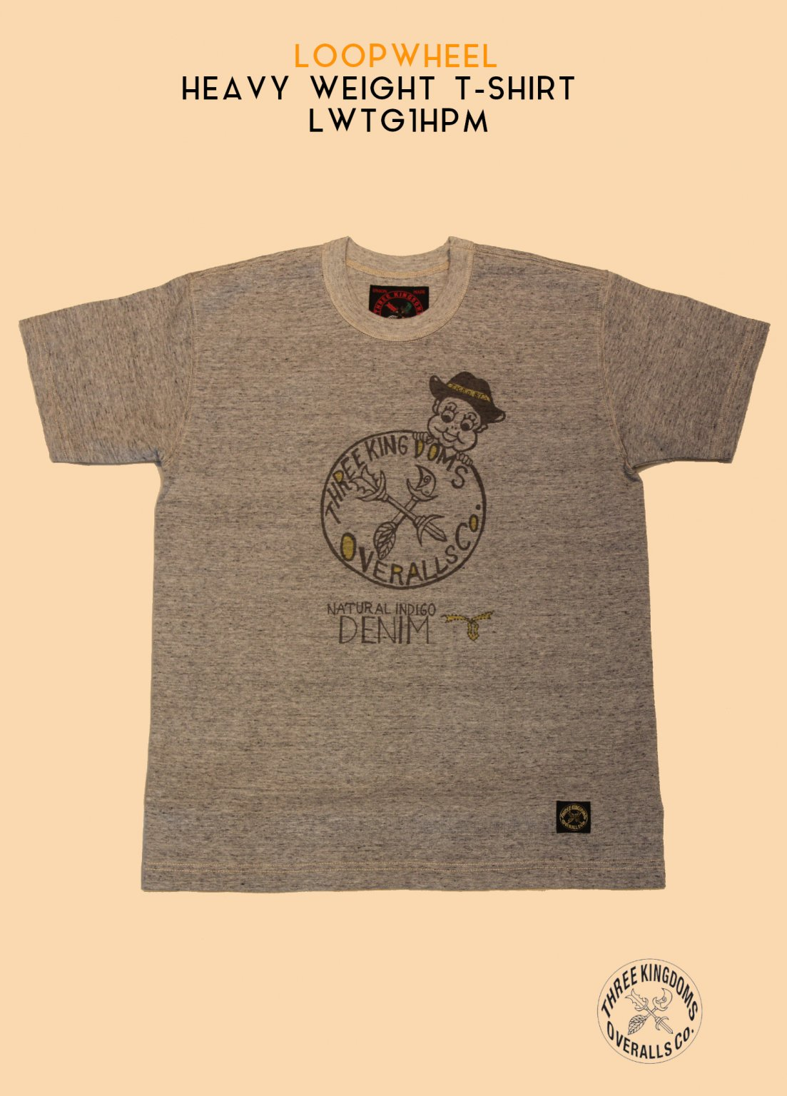 LWTG1HPM LOOPWHEEL HEAVY WEIGHT T-Shirt(Grandrelle Gray)<img class='new_mark_img2' src='https://img.shop-pro.jp/img/new/icons14.gif' style='border:none;display:inline;margin:0px;padding:0px;width:auto;' />