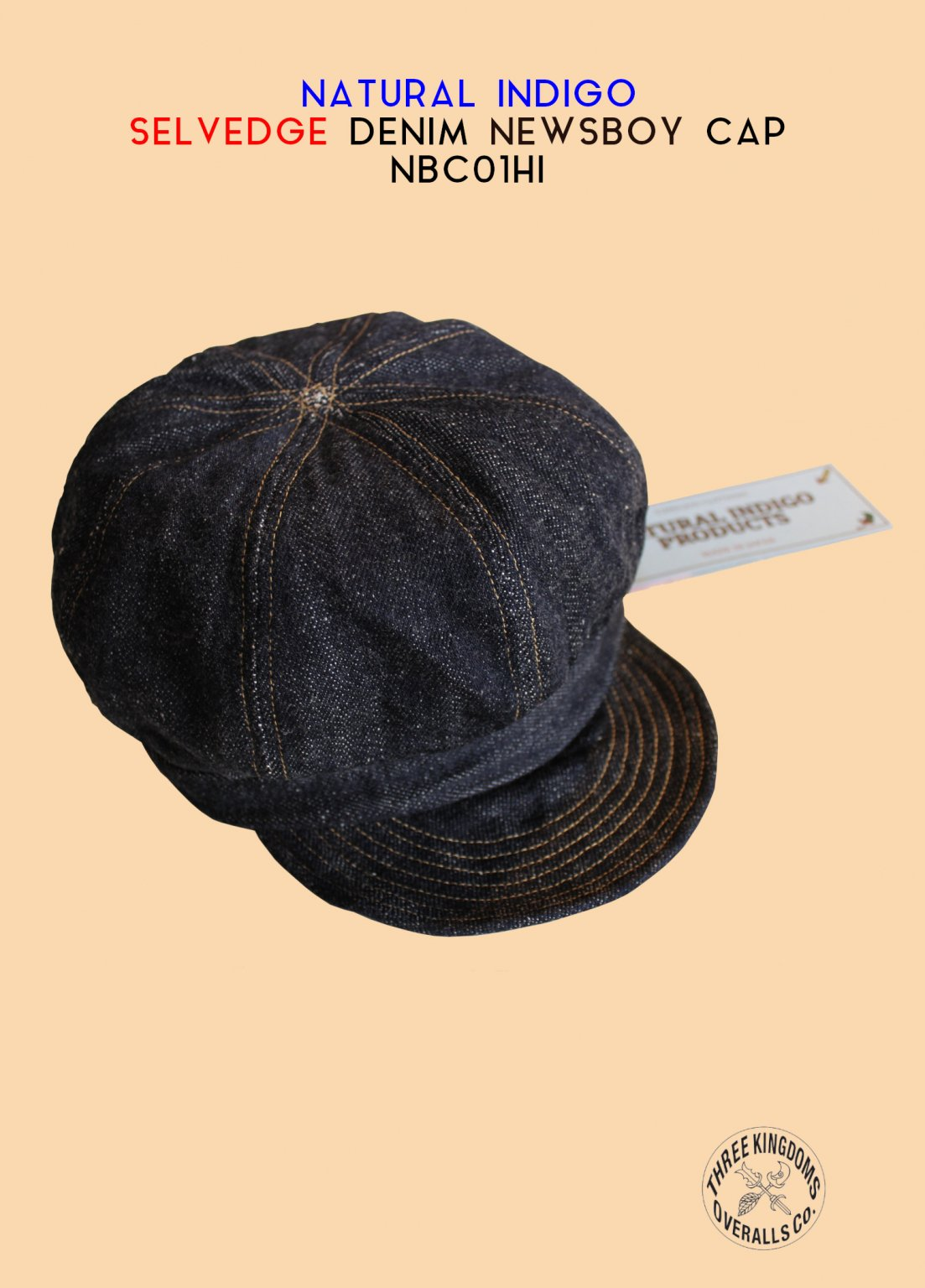 NBC01HI NEWSBOY CAP<img class='new_mark_img2' src='https://img.shop-pro.jp/img/new/icons14.gif' style='border:none;display:inline;margin:0px;padding:0px;width:auto;' />