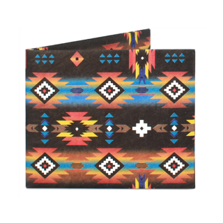 Slim Wallet-TRIBAL AZTEC