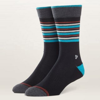 Men's Boulder Stripe Premium Crew Sock