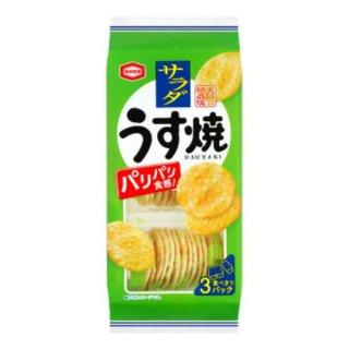 亀田製菓 サラダうす焼 12入。