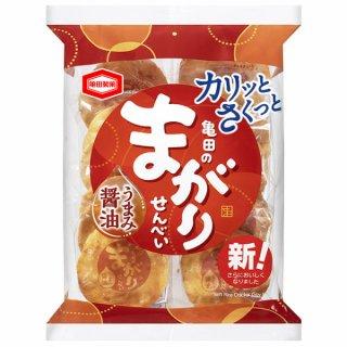 亀田製菓 まがりせんべい12入。