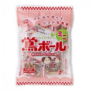 植垣米菓 119g 鴬ボール ミニ 12入。
