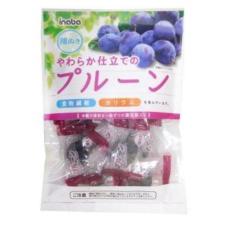 稲葉ピーナツ やわらか仕立てのプルーン(個包装) 130g 12入。
