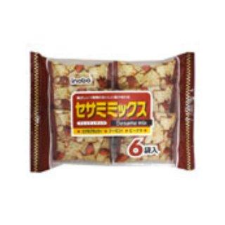 稲葉ピーナツ セサミミックス 12入。