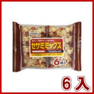 稲葉ピーナツ セサミミックス 6入。