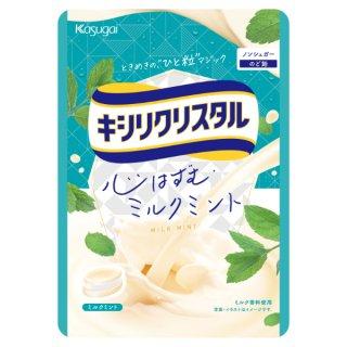 春日井 キシリクリスタル ミルクミントのど飴 6入。