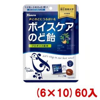 (本州一部送料無料) カンロ ボイスケアのど飴 個包装タイプ 70g×(6×8)48入 。