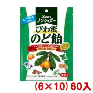 (本州一部送料無料)カンロ ノンシュガー枇杷蜜のど飴 (6×8)48入 (Y10)。