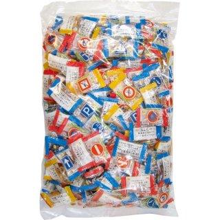 (本州一部送料無料)大丸本舗 交通安全キャンディ1kg 10入 。