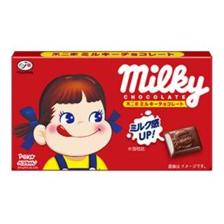 不二家 12粒 ミルキーチョコレート 10入 。