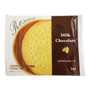 前田製菓 チョコレートサンドビスケットリサーチ 10入 。