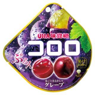 味覚糖 コロロ グレープ 6入。