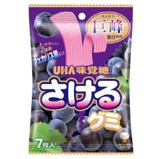 味覚糖 さけるグミ グレープ 10入