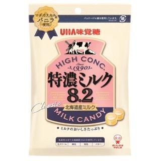 味覚糖 特濃ミルク8.2 6入。