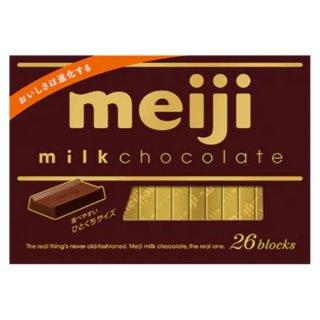 明治 ミルクチョコレートBOX 6入。