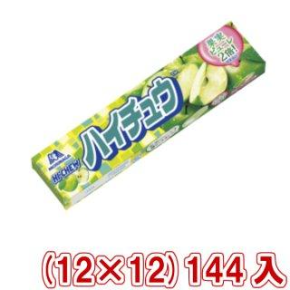 (本州送料無料) 森永 ハイチュウ グリーンアップル (12×12)144入 (Y80)(ケース販売) 。