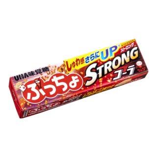 味覚糖 ぷっちょスティック ストロングコーラ 10入。