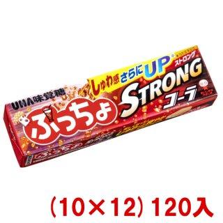 (本州一部送料無料) 味覚糖 ぷっちょスティック ストロングコーラ (10×12)120入 (Y80)。