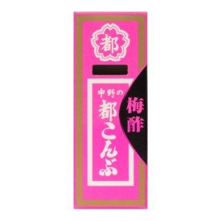 (本州一部送料無料) 中野物産 都こんぶ梅酢 (12×12)144入 (ケース販売)(Y80)