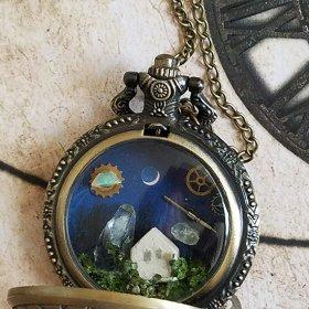 時計の中の風景