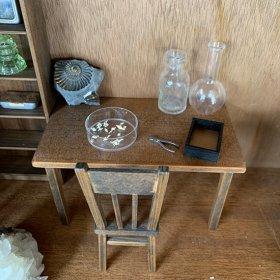 ミニチュア家具キット/#001 シンプルテーブル